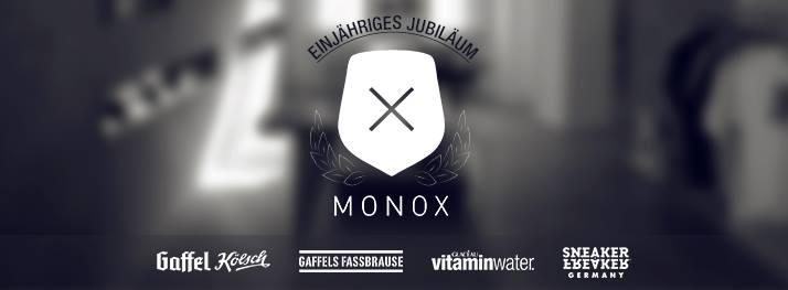 MONOX_EINJAEHRIGES JUBILAEUM