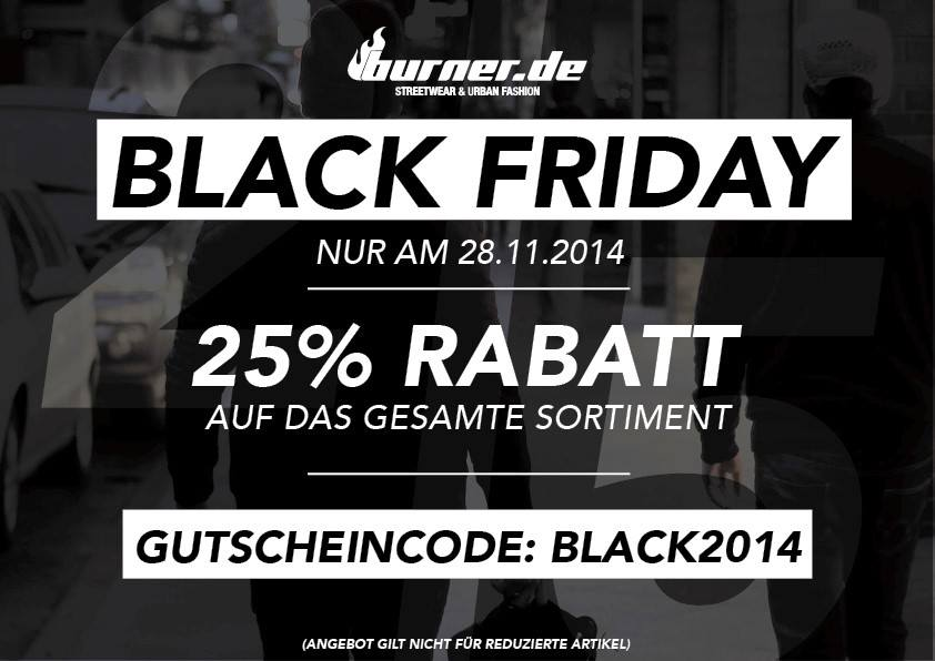 Burder.de Black Friday 2014