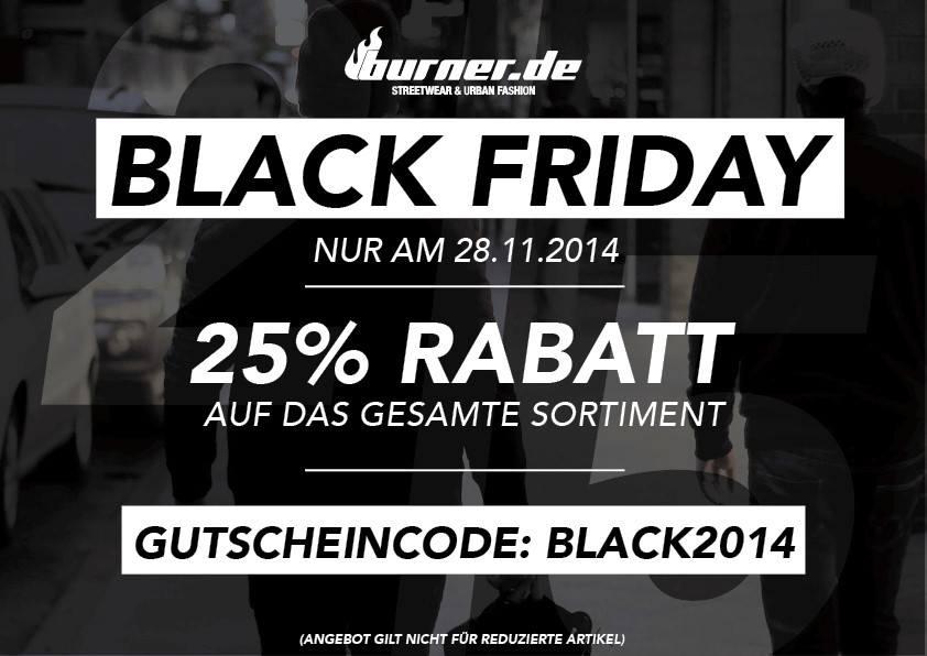 Burder.de Black Friday 2014