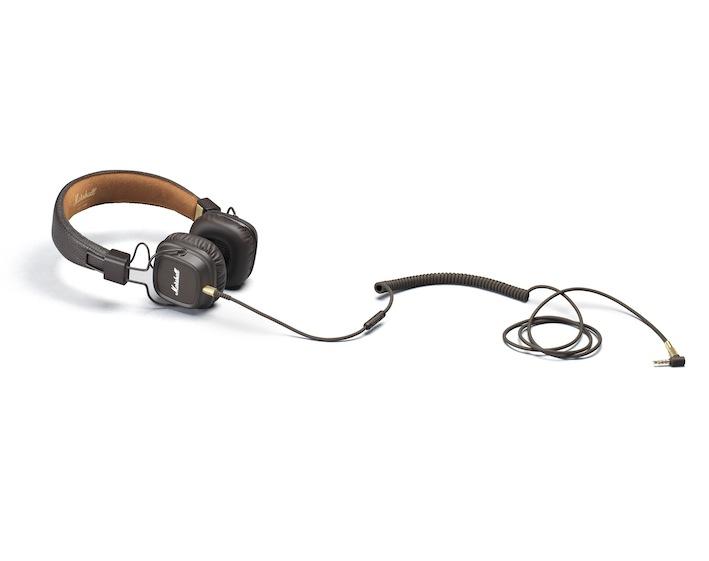 Marshall Headphones_Major_II_brown_1