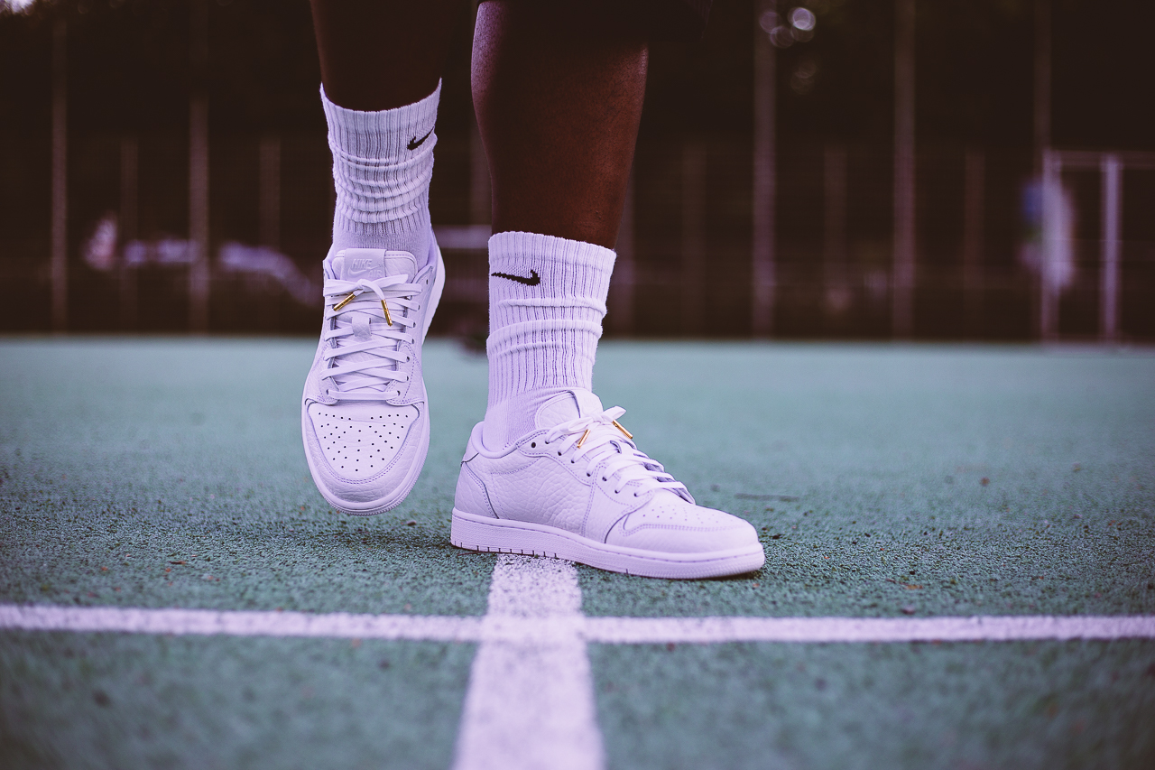 "AIR JORDAN 1 RETRO LOW NS ""ALL WHITE"""